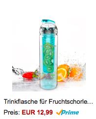 Trinkflasche mit Fruchtbehälter 2