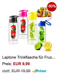 Flasche mit Früchteeinsatz 2