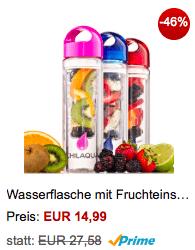 Flasche mit Früchteeinsatz 1